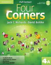 Four Corners Level 4 Full Contact A with Self-study CD-ROM
