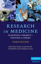 Research in Medicine: Planning a Project – Writing a Thesis
