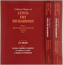The Collected Papers of Lewis Fry Richardson 2 Volume Paperback Set
