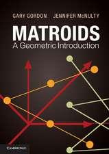 Matroids: A Geometric Introduction