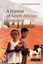 A History of South African Literature
