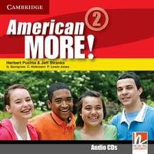 American More! Level 2 Class Audio CDs (2)