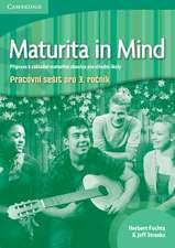 Maturita in Mind Level 3 Workbook Czech edition
