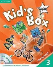 Kid's Box American English Level 3 Workbook with CD-ROM