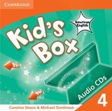 Kid's Box American English Level 4 Audio CDs (4)