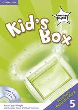 Kid's Box American English Level 5 Teacher's Resource Pack with Audio CDs (2)