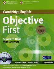 Objective First Student's Book Pack (Student's Book with Answers with CD-ROM and Class Audio CDs (2))