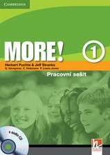 More! Level 1 Workbook with Audio CD Czech edition