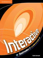 Interactive Level 3 Testmaker CD-ROM and Audio CD