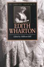 The Cambridge Companion to Edith Wharton