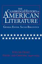 The Cambridge History of American Literature: Volume 8, Poetry and Criticism, 1940–1995