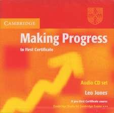 Making Progress to First Certificate Audio CD Set (2 CDs)