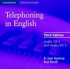 Telephoning in English Audio CD