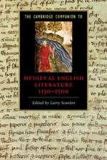 The Cambridge Companion to Medieval English Literature 1100–1500