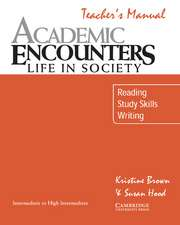 Academic Listening Encounters Teacher's manual: Listening, Note Taking, and Discussion