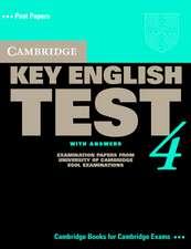 Cambridge Key English Test 4 Self Study Pack