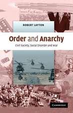 Order and Anarchy: Civil Society, Social Disorder and War