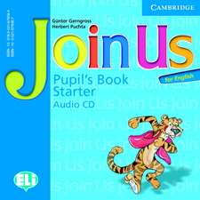 Join Us for English Starter Pupil's Book Audio CD
