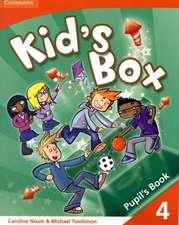 Kid's Box 4 Pupil's Book