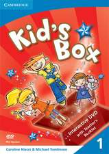 Kid's Box Level 1 Interactive DVD (PAL) with Teacher's Booklet