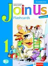Join Us for English Level 1 Flashcards Polish Edition