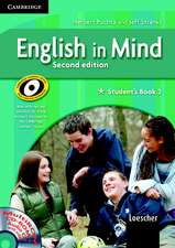 English in Mind 2 Student's Book and Workbook with MultiROM and Companion Book Italian Edition