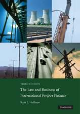 The Law and Business of International Project Finance: A Resource for Governments, Sponsors, Lawyers, and Project Participants