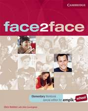 face2face Elementary Workbook with Key EMPIK Polish Edition