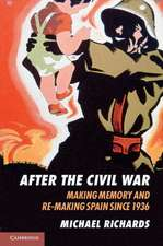 After the Civil War: Making Memory and Re-Making Spain since 1936