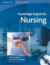 Cambridge English for Nursing Intermediate Student's Book with Polish Glossary and Audio CDs (2) Polish edition