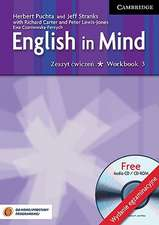 English in Mind Level 3 Workbook with Audio CD/CD-ROM Polish Exam Edition