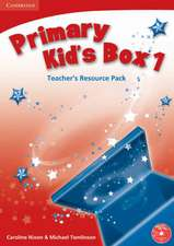 Primary Kid's Box Polish Edition Teacher's Resource Pack with Audio CD Polish Edition