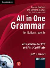 All in One Grammar Italian edition with Answers and Audio CDs (2)