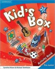 Kid's Box Pre-Junior Activity Book Greek edition