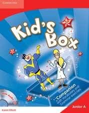 Kid's Box Junior A Companion with Audio CD Greek Edition