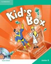 Kid's Box Junior B Companion with Audio CD Greek Edition