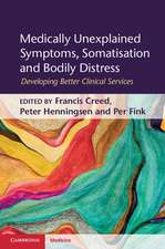 Medically Unexplained Symptoms, Somatisation and Bodily Distress: Developing Better Clinical Services