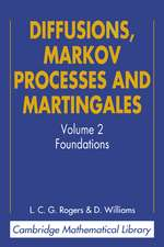 Diffusions, Markov Processes and Martingales: Volume 2, Itô Calculus