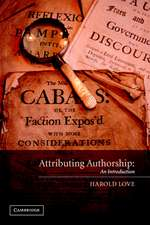 Attributing Authorship: An Introduction