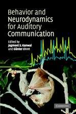 Behaviour and Neurodynamics for Auditory Communication