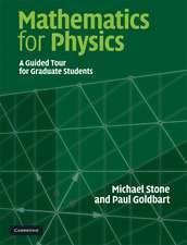 Mathematics for Physics: A Guided Tour for Graduate Students