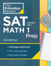 Cracking the SAT Subject Test in Math 1, 3rd Edition