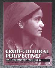 Cross-Cultural Perspectives in Introductory Psychology (with Infotrac) [With Infotrac]
