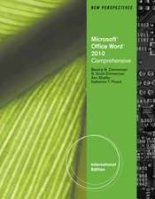New Perspectives on Microsoft¿ Office Word 2010