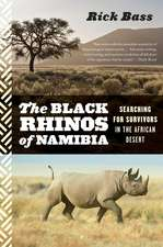 The Black Rhinos of Namibia: Searching for Survivors in the African Desert