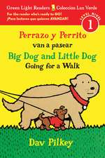 Perrazo y Perrito van a pasear/Big Dog and Little Dog Going for a Walk (Reader)