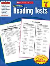 Reading Tests, Grade 6