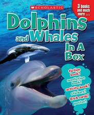 Dolphins and Whales in a Box [With Cards and Poster and 3 Books]