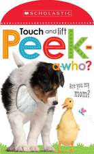 Peek a Who:  Who's My Mother?