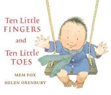 Ten Little Fingers and Ten Little Toes lap board book